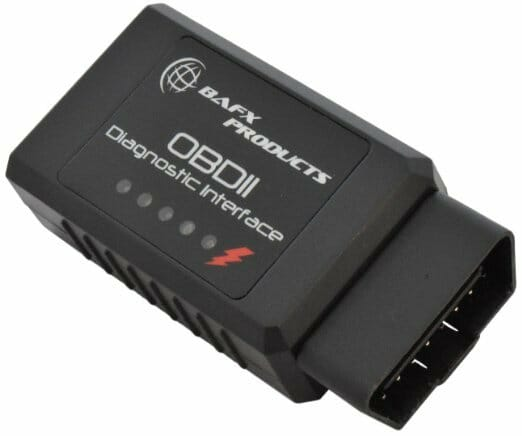 BAFX Products 34t5 Bluetooth OBDII Scan Tool for Android